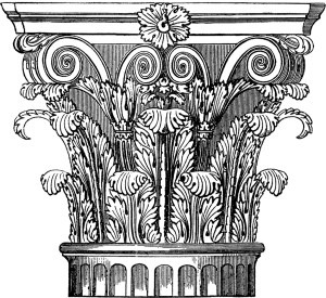 Ornate-Corinthian-Column-Image-GraphicsFairy