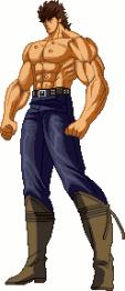 Kenshiro sprites shirtless