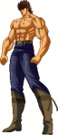 Kenshiro sprites shirtless